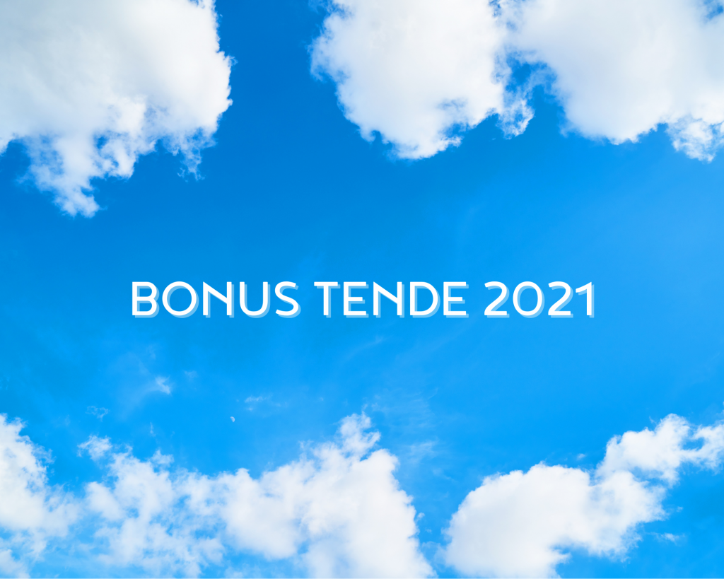 Read more about the article Bonus Tende 2021
